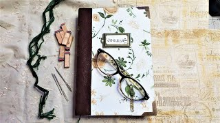 How to Make a Junk Journal (Part 1) Step by Step DIY Tutorial for Beginners Easy Solid Strong!