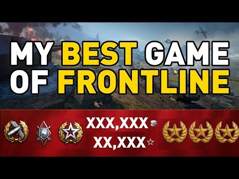 My BEST game of Frontline in World of Tanks!