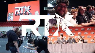 RTX London 2018 Weekend Vlog | Most Awesome Of Times!!!