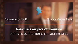 Click to play: Address by President Ronald Reagan [Archive Collection]