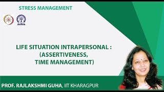 Life Situation Intrapersonal : (Assertiveness, Time Management)