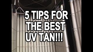5 TIPS TO GET THE BEST TANNING RESULTS!