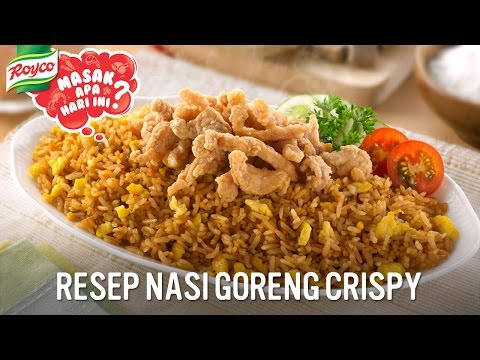 Video Resep Royco - Nasi Goreng Crispy