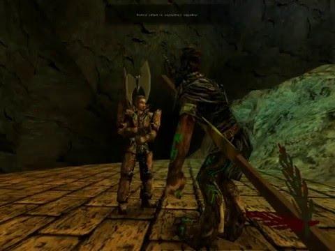 Gothic anb Jirkův Gameplay(21) první část - prokletej most a poslední šámon king