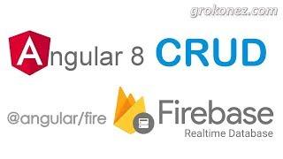 Angular 8 Firebase Database CRUD operations with @angular/fire