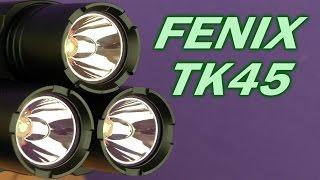 Fenix TK45 (R5) - відео 2