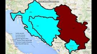 Bosnia, Croatia, Kosovo VS. Serbia War Prediction