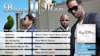 "Boyz II Men - 'Twenty' Album Preview Part 8: ""One Up For Love"""