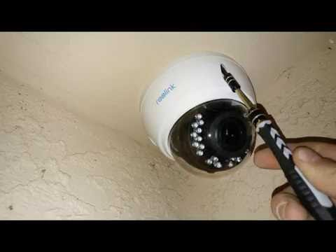 Reolink RLC-422 Camera Installation