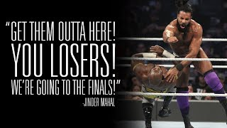 Jinder Mahal praises the competition before MMC Finals