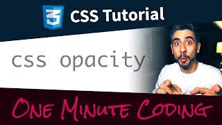 CSS Opacity