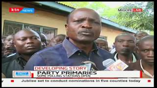 Governor Okoth Obado claims some of the aspirants are promoting violence
