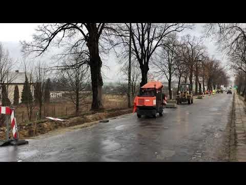 Wideo1: Remont chodnika na ul. Daszyńskiego we Wschowie
