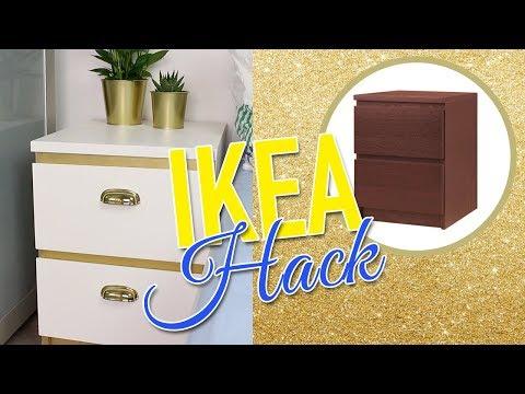 IKEA Hack – MALM Nachttisch | günstig und einfach | DIANA DIAMANTA