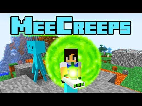 Mr Meeseeks in Minecraft | Rick and Morty MeeCreeps Mod Spotlight (beta)