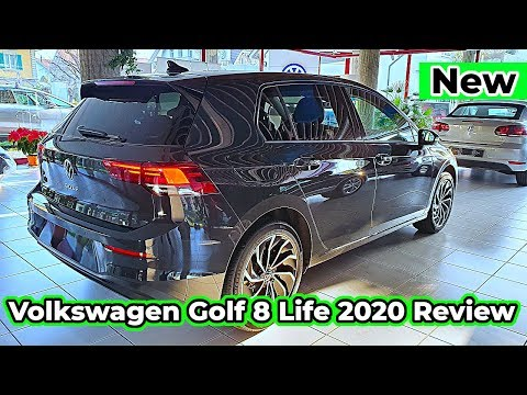 Volkswagen Golf 8 Life 2020 New Review Interior Exterior MK8
