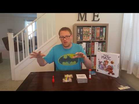 Rukus Rush Reviews - Magic Maze