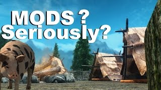 Why Skyrim Remastered Isn't Getting mod Support, But FARMING SIMULATOR Is; Skyrim Modding News