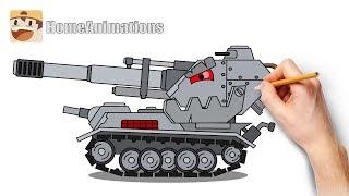 Рисуем приспешников Левиафана - Мультики про танки