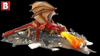 Good ole Fire Breathing Dragon in LEGO   TOP 10 MOCs