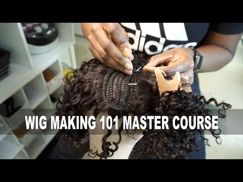 Wig Making 101  HOW TO MAKE WIGS FOR MONEY MASTER COURSE
