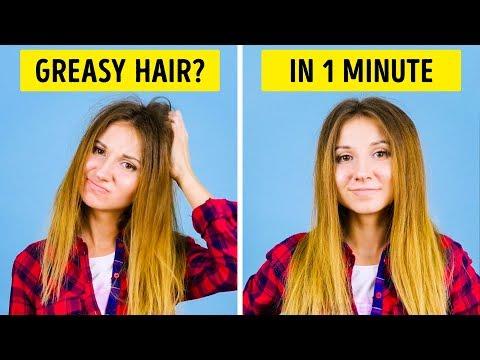 25 טיפים מעולים ופשוטים לסידור וטיפוח השיער בסרטון בן פחות מ-10 דקות