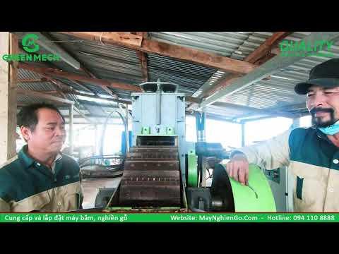 Cung cấp máy nghiền gỗ thành mùn cưa làm viên nén xuất khẩu tại Bình Định