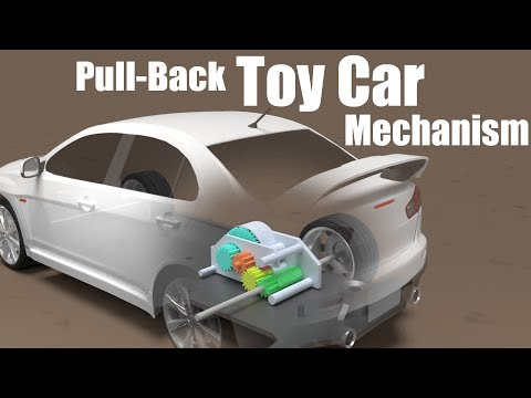 How Pull-Back Toys are Made