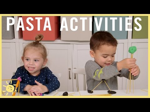 PLAY| 3 Pasta Activities!