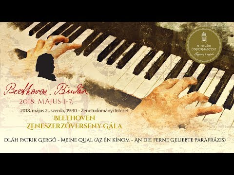 Beethoven Budán 2018 - Zeneszerzőverseny Gála: Oláh Patrik Gergő - video preview image