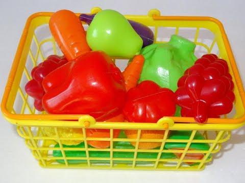 Фрукты и овощи на английском языке для детей.  Learn fruits and vegatable.