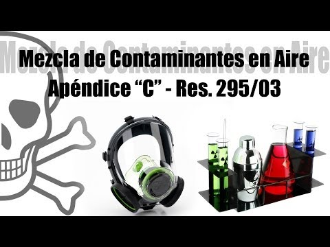 Mezcla de Contaminantes en Aire