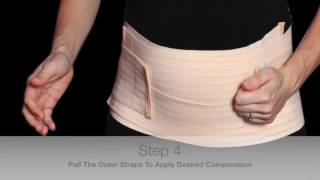 How to put on your belly bands