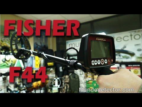 Detectores de metales FISHER F44