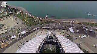 2018 FIFA World Cup: Fisht Stadium in Sochi  (360 VIDEO)