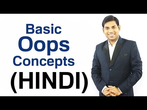 Basic Concepts of Object Oriented Programming (HINDI)
