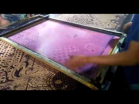 The Making Of Batik Sarong Fabric From Solo Indonesia By Batikdlidir