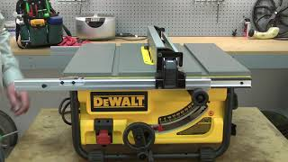 DeWALT Table Saw Repair - How to Replace the Fence