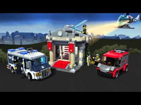 Vidéo LEGO City 60008 : Le cambriolage du musée