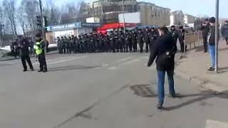 DEITA.RU В Архангельске смели полицейских