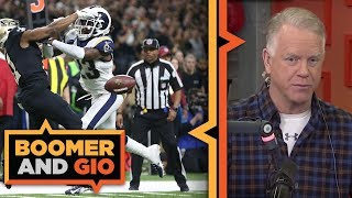 Did the refs GIVE the game to the Rams?  | Boomer and Gio