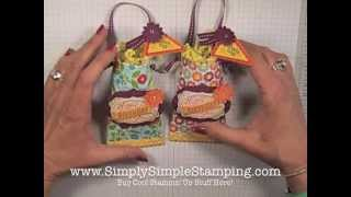 Simply Simple UPCYCLED TOILET PAPER TUBE TREAT HOLDER By Connie Stewart