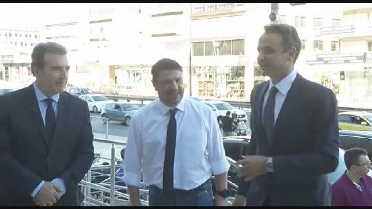 Ο Πρωθυπουργός Κυριάκος Μητσοτάκη επισκέφθηκε το  κτηριο της δομής της Πολιτικής Προστασίας