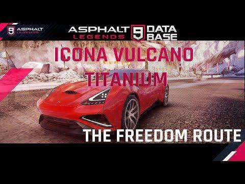 Icona Vulcano Titanium 活动 - 最佳路线