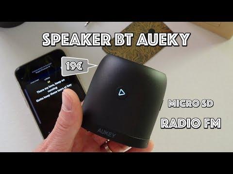 Recensione Speaker AUKEY con BT, Radio FM e lettore Micro SD. A 19€!