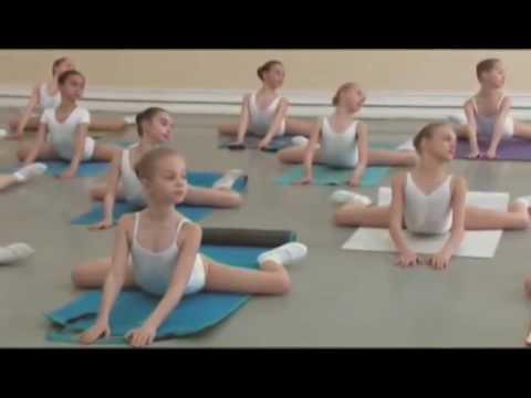 Vaganova Ballet Academy  Stretching and flexibility exercises