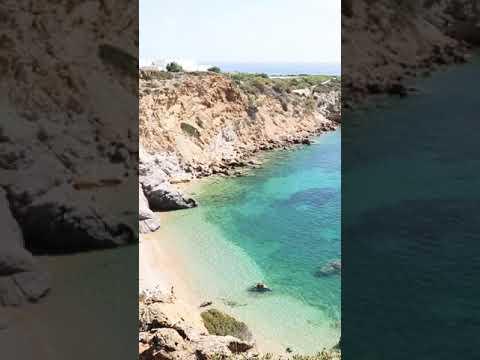 Такая вот островная экзотика недалеко от Афин  Kape Beach   недалеко от мыса Сунио