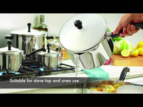 Farberware Classic Stainless Steel 17 Piece Cookware Set Review