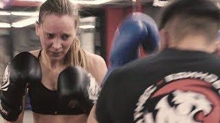 Олеся Грибок тренировка бокс подготовка к роли