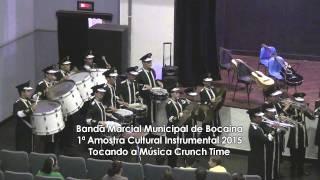 Banda Marcial de Bocaina tocando a música Crunch Time